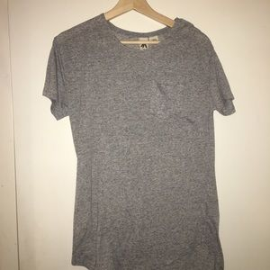 Urban outfitters long line pocket t-shirt